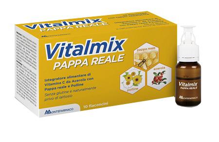 VITALMIX PAPPA REALE INTEGRATORE ALIMENTARE 10 FLACONCINI 10 ML  - Farmastar.it