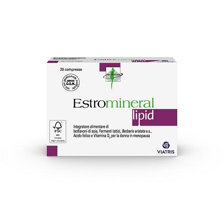 ESTROMINERAL LIPID 20 COMPRESSE - Farmapc.it