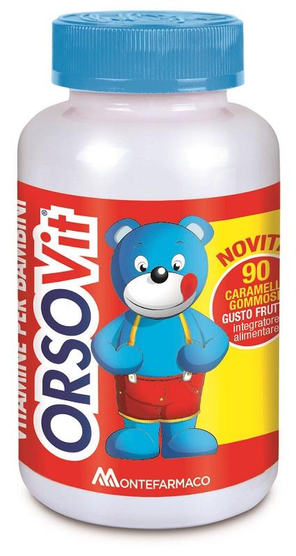 Orsovit Caramelle Gommose 90 Pezzi Promo - Farmalilla