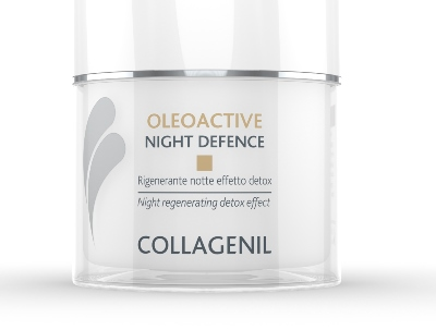 Collagenil Oleoactive Night Defence Rigenerante Notte Viso Effetto Detox 50 ml - La tua farmacia online