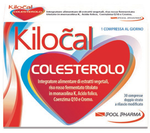 POOL PHARMA  KILOCAL COLESTEROLO 30 COMPRESSE - Farmacento