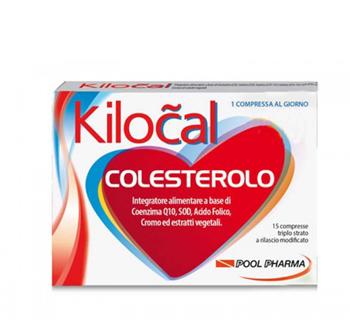 KILOCAL COLESTEROLO 15 COMPRESSE - Farmacento