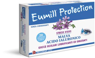 EUMILL PROTECTION GOCCE OCULARI 20 FLACONCINI MONODOSE 0,5 ML - Farmacento