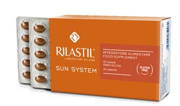 RILASTIL SUN SYSTEM INTEGRATORE ALIMENTARE 30 Compresse - La tua farmacia online