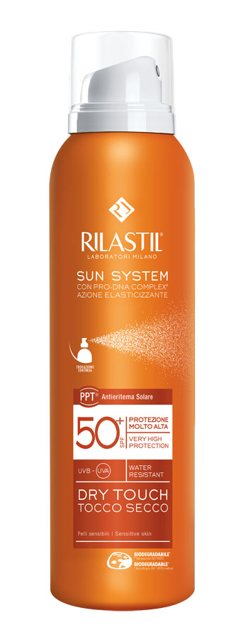 RILASTIL SUN SYSTEM DRY TOUCH SPF 50+ 200 ML - farma-store.it