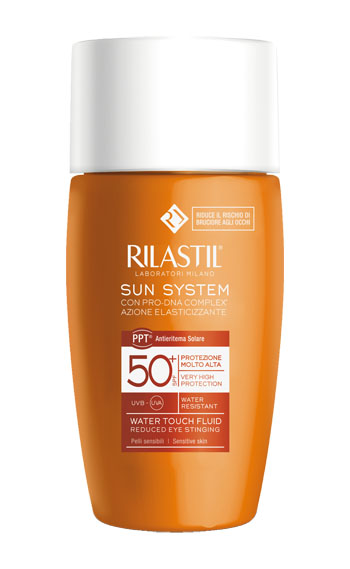 RILASTIL SUN SYSTEM WATER TOUCH SPF 50+ 50 ML - farma-store.it