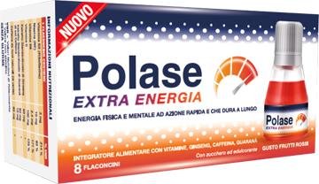 POLASE EXTRA ENERGIA 8 FLACONCINI - Farmacia 33