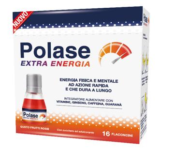POLASE EXTRA ENERGIA 16 FLACONCINI - Farmacia 33
