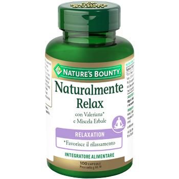 NATURALMENTE RELAX 100 CAPSULE - Farmacento
