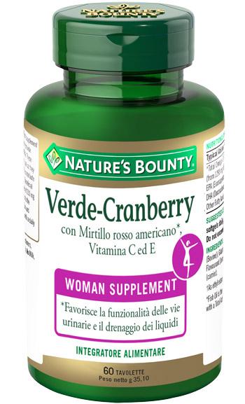 VERDE CRANBERRY 60 TAVOLETTE - Farmacento