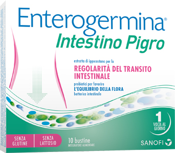 ENTEROGERMINA INTESTINO PIGRO 10 BUSTINE - Farmaciasconti.it