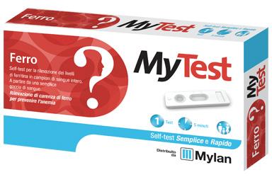 TEST FERRO MYTEST KIT 1 PEZZO - Farmamille