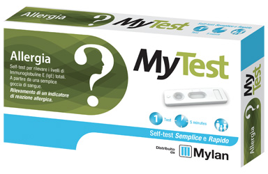 TEST ALLERGIA MYTEST KIT 1 PEZZO - Farmamille