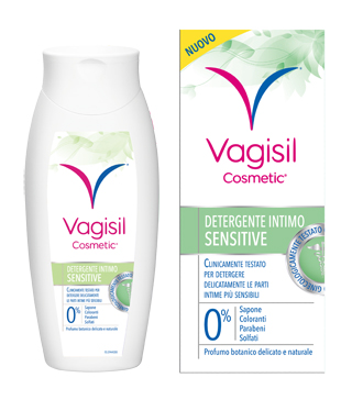 VAGISIL DETERGENTE SENSITIVE 250 ML + 75 ML  - Farmacento