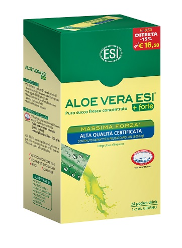 ALOE VERA 24 POCKET DRINK MASSIMA FORZA 24 POCKET 20 ML - La tua farmacia online
