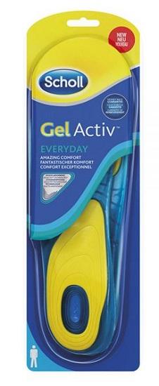 SCHOLL GEL ACTIV EVERYDAY UOMO - Farmamille