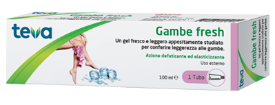 GAMBE FRESH TEVA GEL 100 ML - FARMAEMPORIO