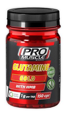 ProAction ProMuscle Glutamine Gold Con HMB 150 Compresse - La tua farmacia online