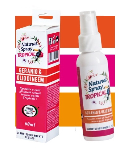 NATURAL SPRAY TROPICAL 60 ML - Zfarmacia