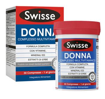 SWISSE MULTIVITAMINICO DONNA 30 COMPRESSE - Zfarmacia