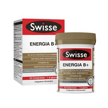SWISSE ENERGIA B+ 50 COMPRESSE - Zfarmacia