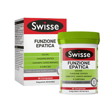 SWISSE FUNZIONE EPATICA 60 COMPRESSE - Zfarmacia
