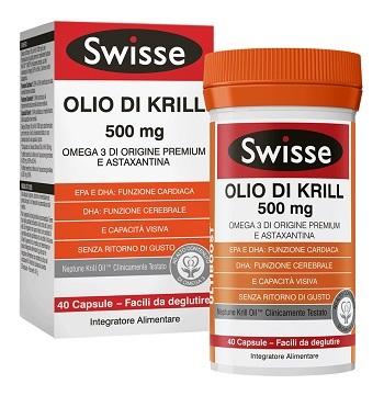 SWISSE OLIO KRILL 40 CAPSULE - Zfarmacia