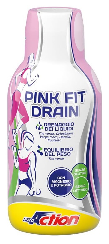 PROACTION PINK FIT DRAIN 500ML - La tua farmacia online