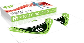 FIT CEROTTO ENERGETICO GINOCCHIO 8 CEROTTI - La tua farmacia online