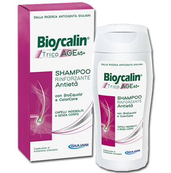 BIOSCALIN TRICOAGE SHAMPOO 200 + 200 ML - La tua farmacia online