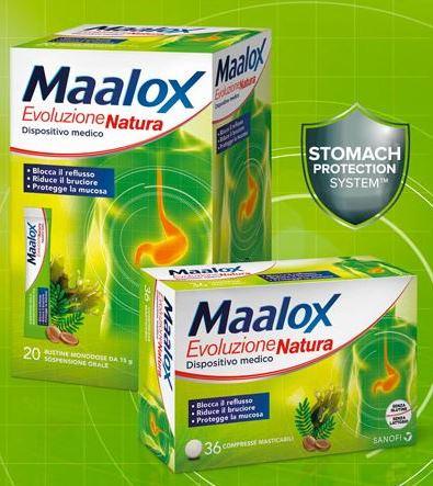 MAALOX EVOLUZIONE NATURA 20 BUSTINE - Farmacento