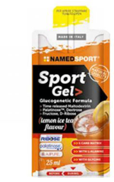 SPORT GEL LEMON ICE TEA 25 ML - Farmamille