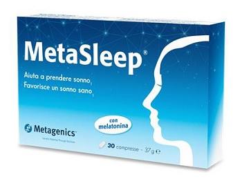 METAGENICS METASLEEP 30 COMPRESSE - Farmastar.it