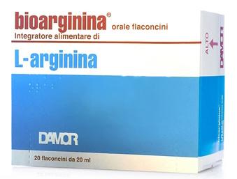 BIOARGININA ORALE 20 FLACONCINI DA 20 ML - Farmacia 33