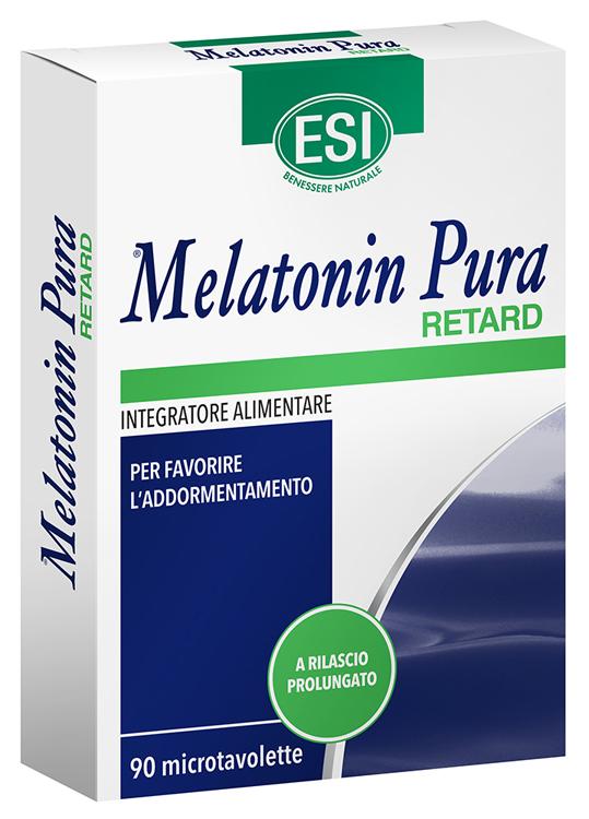 MELATONIN PURA RETARD 90 MICROTAVOLETTE - Parafarmaciabenessere.it