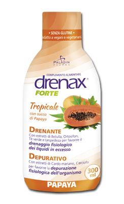 DRENAX FORTE PAPAYA 300 ML - FARMAEMPORIO
