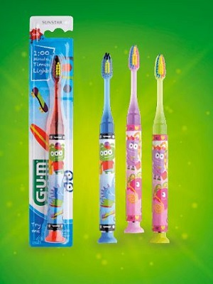 GUM LIGHT UP SPAZZOLINO  7-9 ANNI - Farmapc.it