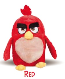 ANGRY BIRDS RED PELUCHE RISCALDABILE - Farmacia 33