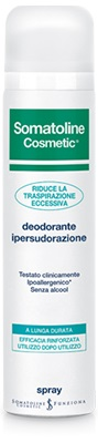 SOMATOLINE COSMETIC DEODORANTE IPERSUDORAZIONE SPRAY - Farmastar.it