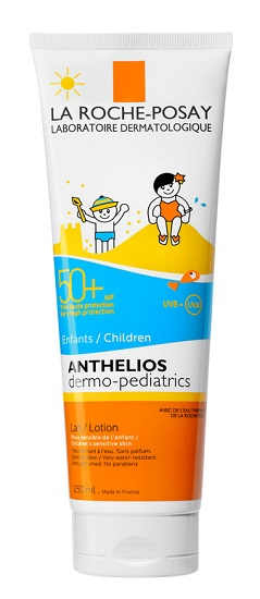 LA ROCHE POSAY ANTHELIOS LATTE SOLARE BAMBINI  SPF 50+ 250 ML NOVITA' - Farmastar.it