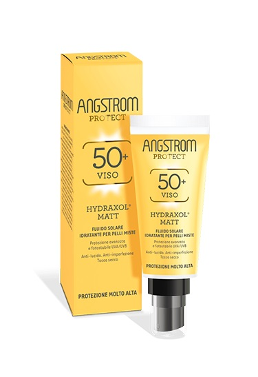 ANGSTROM PROTECT HYDRAXOL MATT FLUIDO SOLARE ULTRA PROTEZIONE 50+ 40 ML - Farmacento