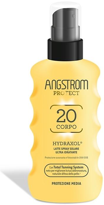 Angstrom Protect Latte Spray Solare Idratante Corpo Protezione 20 Media 175ml - La tua farmacia online