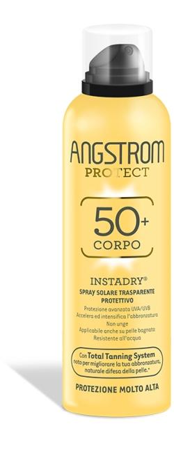 Angstrom Protect Instadry Spray Solare Protezione 50+ Molto Alta 150ml - La tua farmacia online