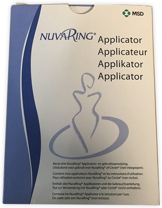 APPLICATORE PER ANELLO VAGINALE NUVARING 3 PEZZI - Farmacento
