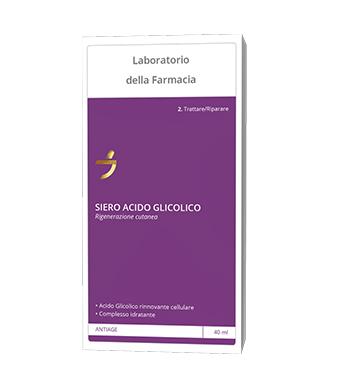 LABORATORIO DELLA FARMACIA SIERO ACIDO GLICOLICO 40 ML - Zfarmacia