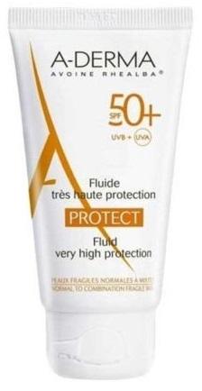 ADERMA SOLARE A-D PROTECT FLUIDO 50+ 40 ML - Farmastar.it
