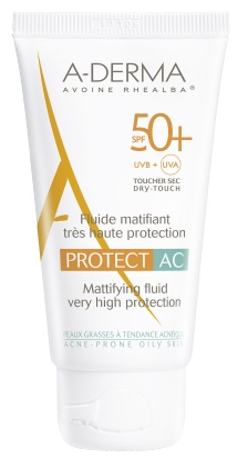 ADERMA A-D PROTECT AC FLUIDO MAT 50+ 40 ML - Parafarmaciabenessere.it