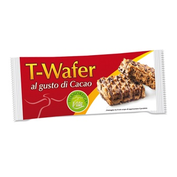 TISANOREICA T-WAFER AL GUSTO CACAO INTENSIVA 36 G - Farmastar.it