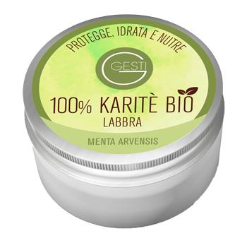 GESTI 100% KARITE' BIO 10 ML MENTA ARVENSIS LABBRA - FARMAEMPORIO
