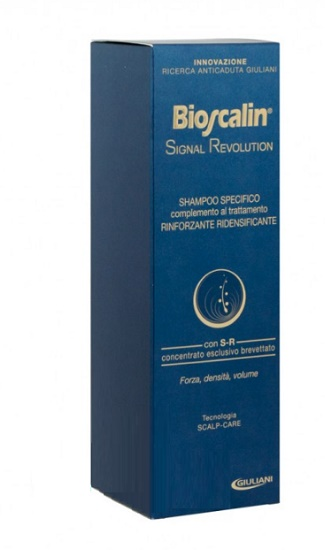BIOSCALIN SIGNAL REVOLUTION SHAMPOO RINFORZANTE RIDENSIFICANTE 200 ML - Farmastar.it
